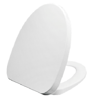 V Shape Elongate Design PP Toilet Seat BP0133Q3